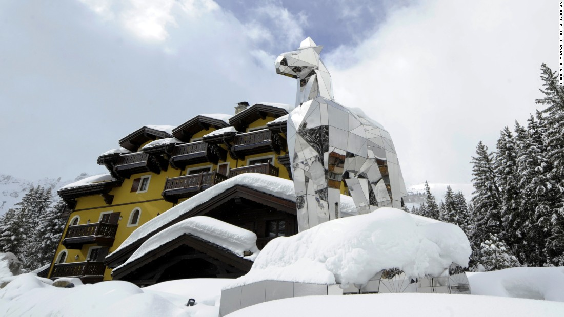 "The Hotel Cheval Blanc (""white horse"") in Courchevel, France, is home to Michelin-starred restaurant <a href=""http://www.courchevel.chevalblanc.com/en/culinary-art/1947.html"" target=""_blank"">Le 1947</a>. Its modern setting caters for just 25 people per sitting."