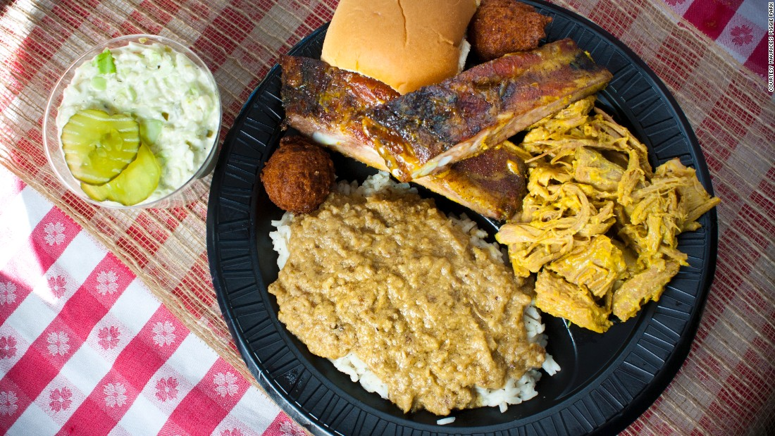 South Carolina's mustard sauce sets the state apart in the world of barbecue, although plenty of S.C. spots don't use it. Maurice's Piggie Park, based in West Columbia, bottles its signature Southern Gold sauces.