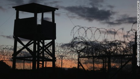 GUANTANAMO BAY, CUBA - JUNE 27:  (EDITORS NOTE: Image has been reviewed by the U.S. Military prior to transmission.) A watch tower is seen in the currently closed Camp X-Ray which was the first detention facility to hold 'enemy combatants' at the U.S. Naval Station on June 27, 2013 in Guantanamo Bay, Cuba.The U.S. Naval Station at Guantanamo Bay, houses the American detention center for 'enemy combatants'. President Barack Obama has recently spoken again about closing the prison which has been used to hold prisoners from the invasion of Afghanistan and the war on terror since early 2002.  (Photo by Joe Raedle/Getty Images)