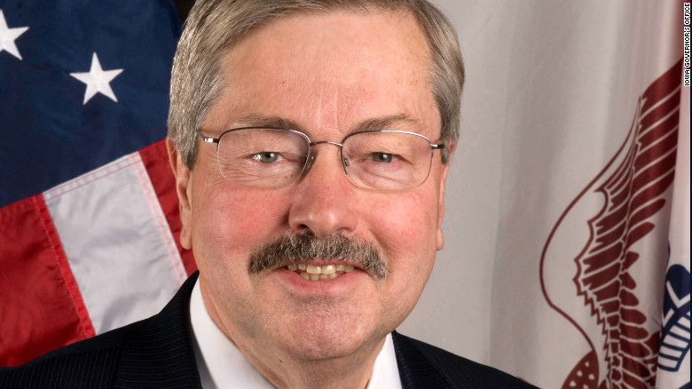 Trump taps Iowa governor as China ambassador