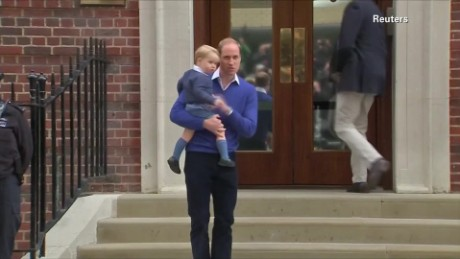 britain royals prince george university of bradford asher pkg_00000617