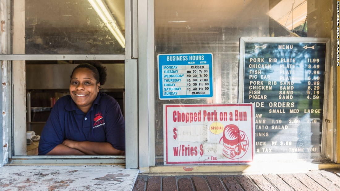 Donetta Bethune is the granddaughter of Brenda's Bar-B-Q founders. Located in Montgomery, Brenda's is also a member of the Alabama Barbecue Hall of Fame.