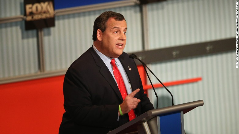 Christie: I would not let Syrian refugees into the U.S.
