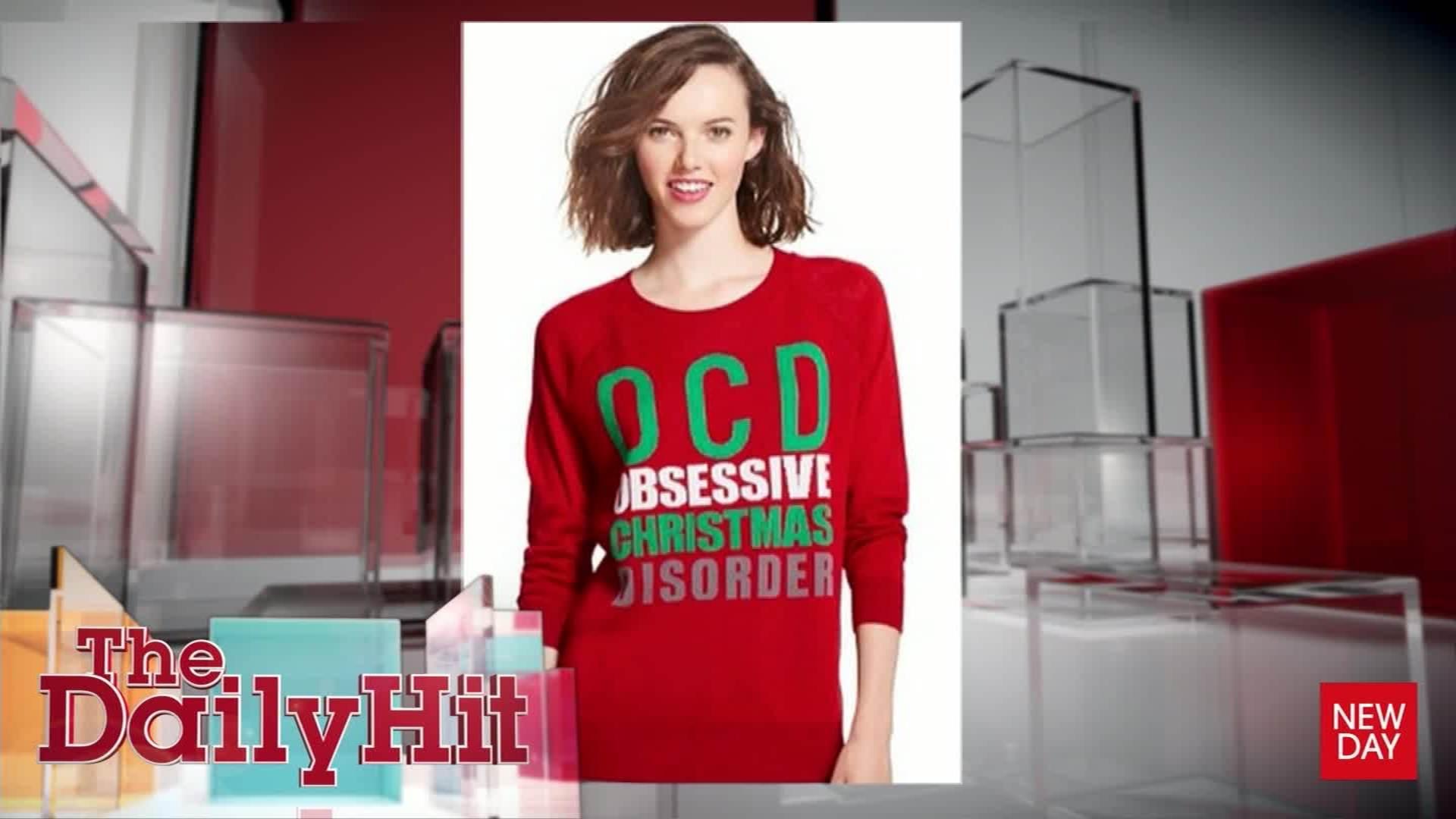 Target facing backlash over \'OCD\' sweater - CNN Video