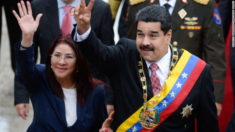 Agents arrest members of Venezuelan President's family