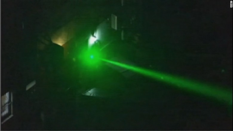 Man Arrested For Pointing Laser At News Helicopter Cnn Com