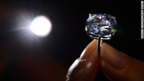 Billionaire buys world's most expensive diamond for his 7-year-old