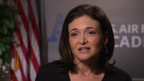 sheryl sandberg military bias costello pkg nr_00000509