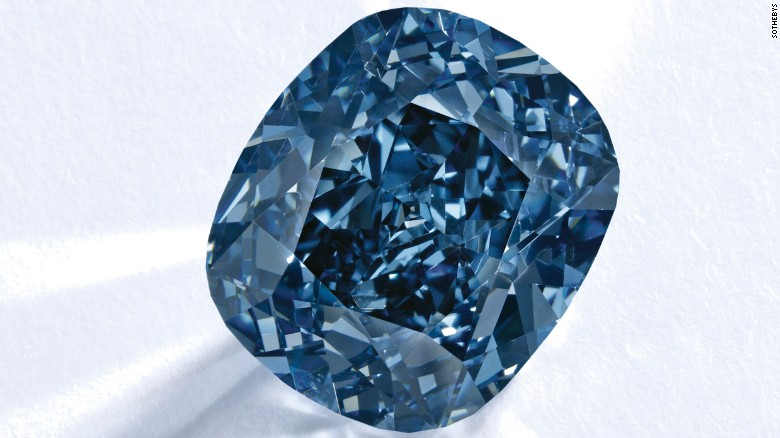 This rare blue diamond could sell for $25 million - CNN.com