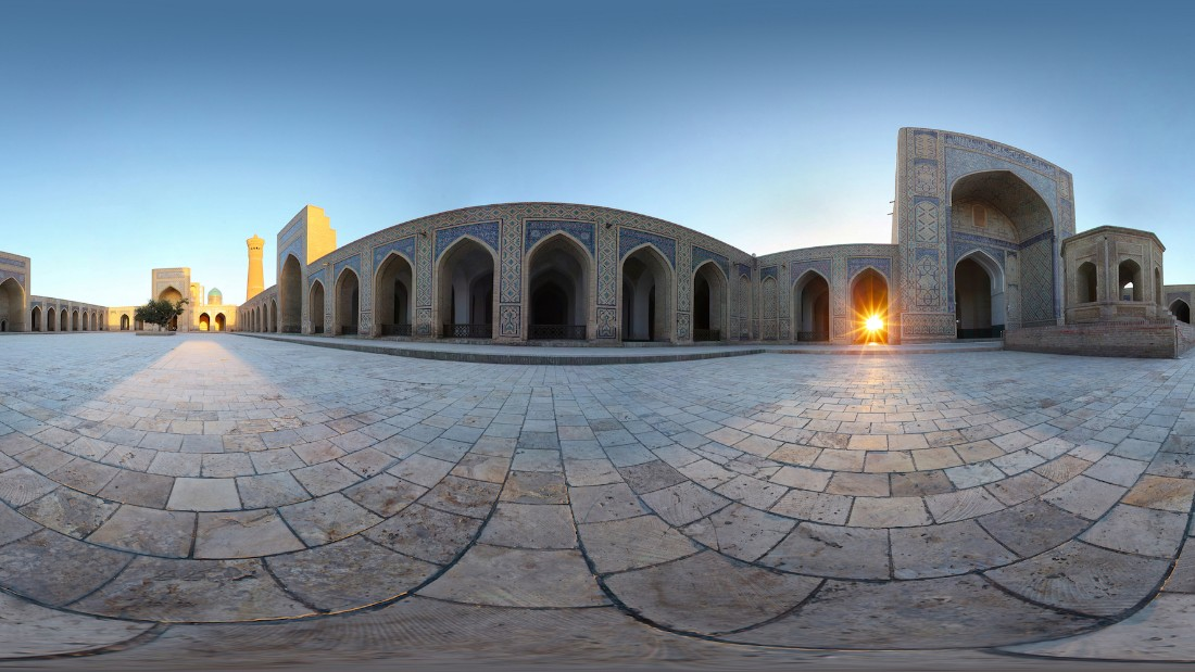 Cox & Kings' new 2016 Central Asia tour follows the path of the great caravans to the ancient Silk Road towns of Khiva, Bukhara and Samarkand as part of its 12-day Highlights of Central Asia tour, which goes from Ashkabad, Turkmenistan to Tashkent, Uzbekistan (pictured).