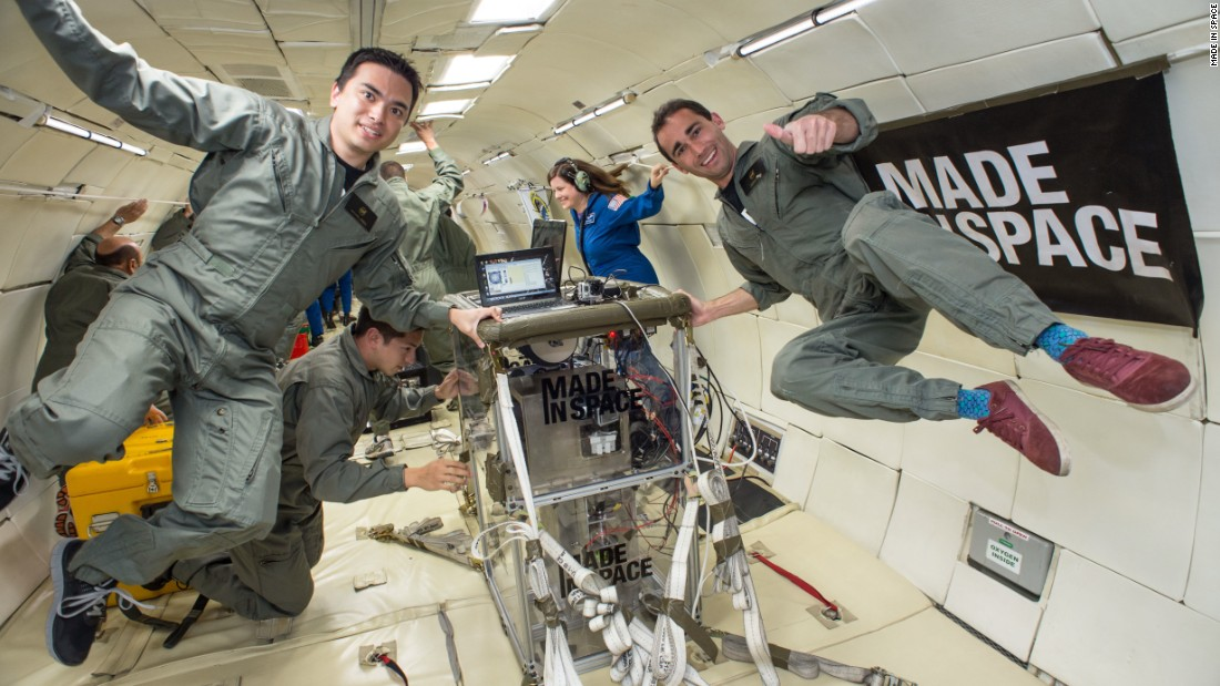 "<strong>Made in Space </strong><br />Founded in 2010, the California start-up has refined 3D printers that work in zero gravity. Having already succeeded in delivering the first object printed in space -- <a href=""http://edition.cnn.com/2014/12/19/tech/feat-3d-wrench-nasa/"">a wrench</a> - they will soon install a permanent unit in the International Space Station. The printer could be potentially life-saving, using plastics and other materials to produce vital tools, parts and components.  Astronauts will also be spared long waits for re-supply missions, as files for the printer can be digitally shared from Earth. <br />"