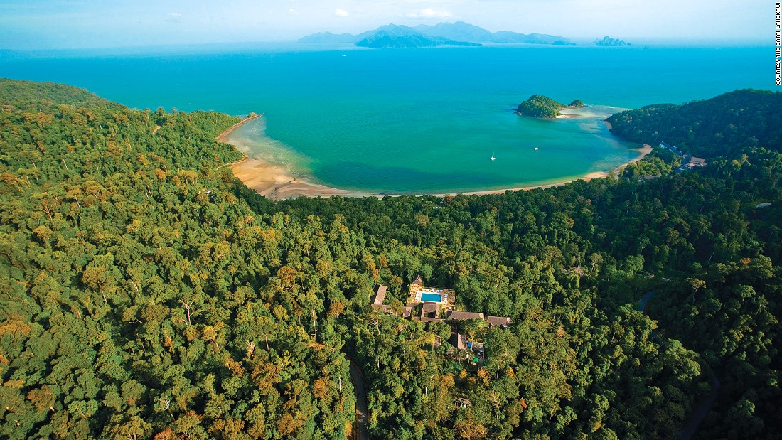 "No longer a ""best-kept-secret"" among travelers, Malaysia's the Datai Langkawi is one of the world's best resorts hidden in a rainforest. Its Villa Hutan Datai is an exclusive 550-square-meter complex away from the main resort ground."