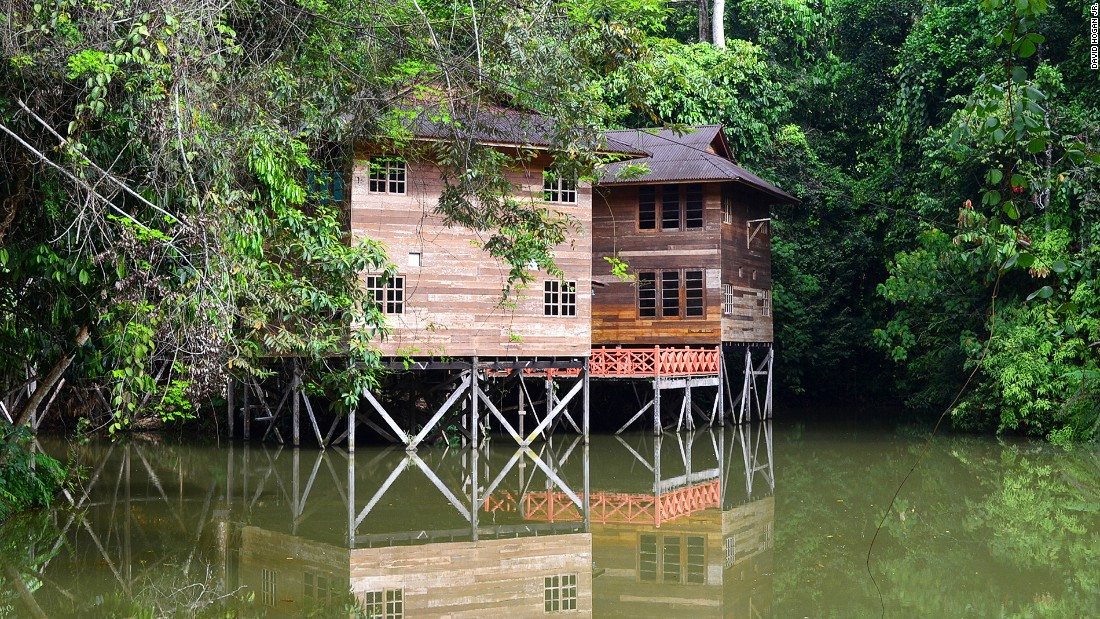 Borneo Tropical Rainforest Resort doesn't only provide easy access to one national park, but two -- Niah and Lambir Hills.