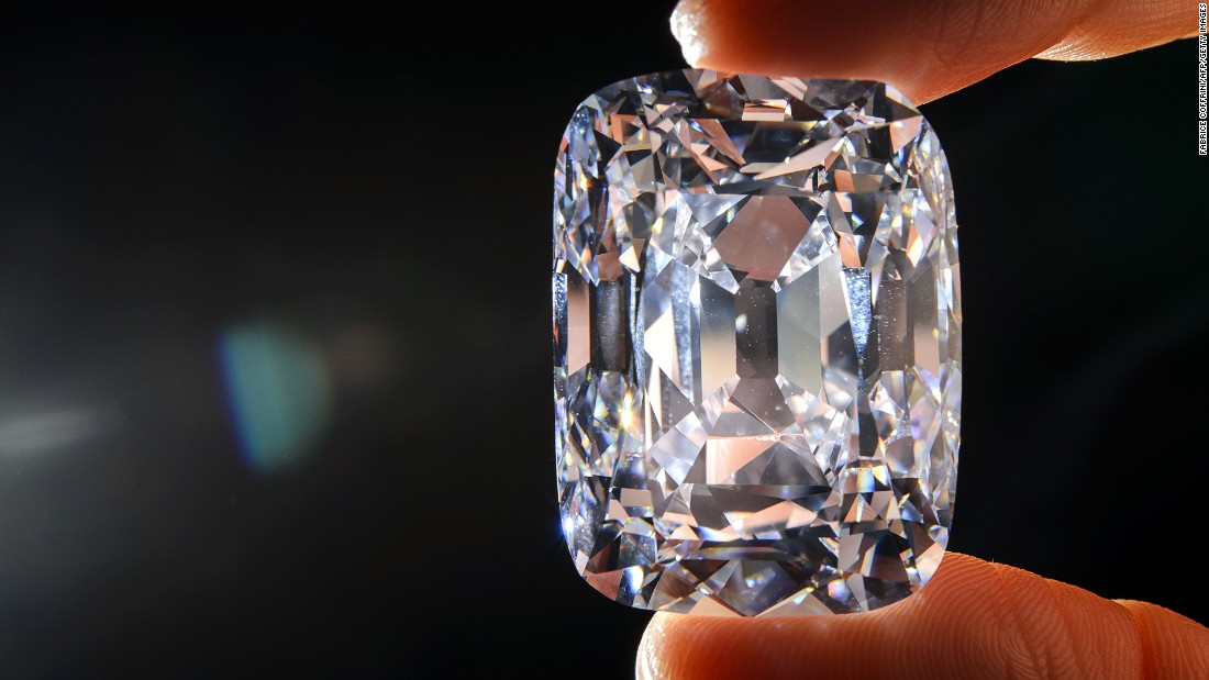 The 76.02-carat 400-year-old Archduke Joseph diamond set a new record for price per carat for a colorless diamond in 2012, when it sold for $21.5 million at a Christie's auction.
