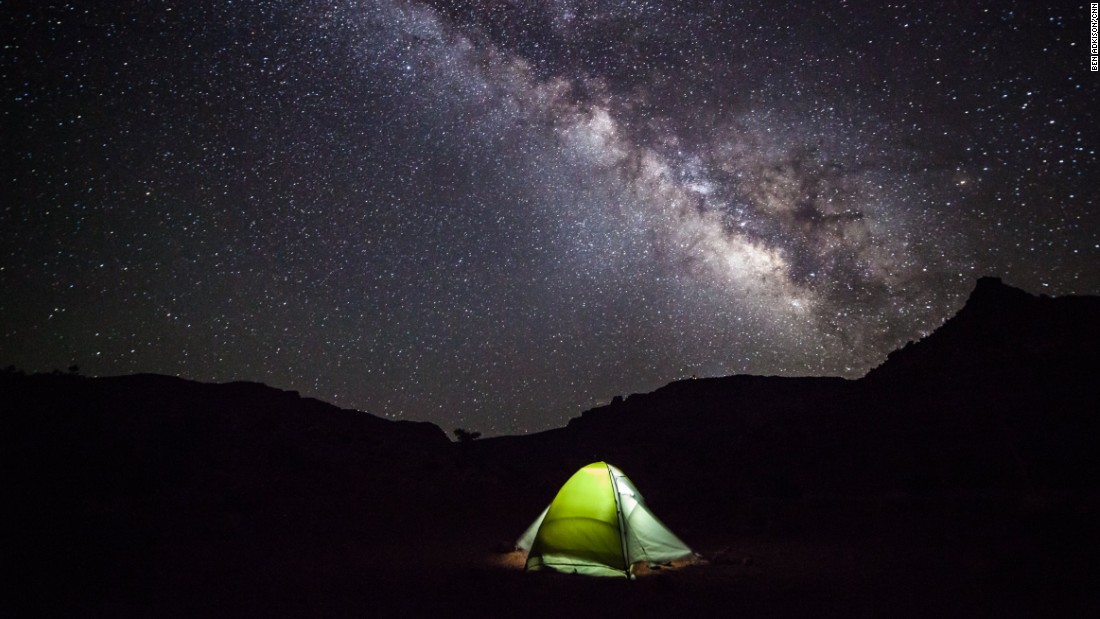 The Tanner Trail is less traveled than the South Kaibab and Bright Angel trails and is best done as a backpacking trip of two or more days. With almost zero light pollution and expansive canyon views, this is the best part of the canyon for stargazing.