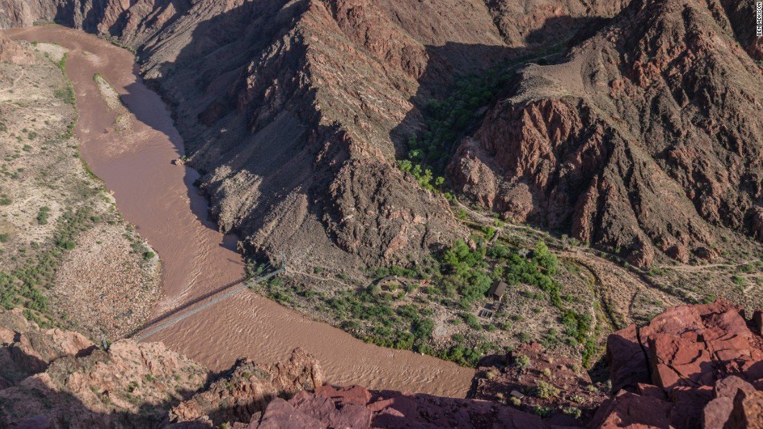 The North Kaibab Trail is the only trail on the North Rim to reach the two bridges that cross the Colorado River. This makes a rim-to-river-to-rim trans-canyon hike possible.