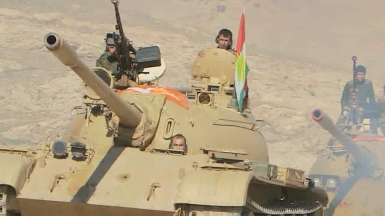 kurdish forces fight sinjar isis walsh dnt tsr _00001315