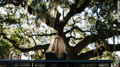 Amid Spanish moss-draped oaks on FSU's campus, Maria took stock of her painful history as a young student on this campus
