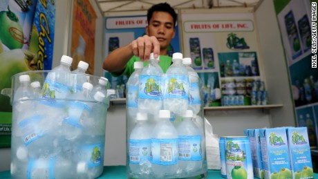 Products like coconut water are much more profitable than selling traditional dried coconut meat.