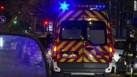 Paris shooting survivor: It was 'a bloodbath'