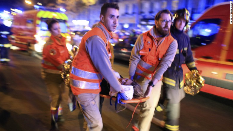 Where did the Paris terror attacks take place?