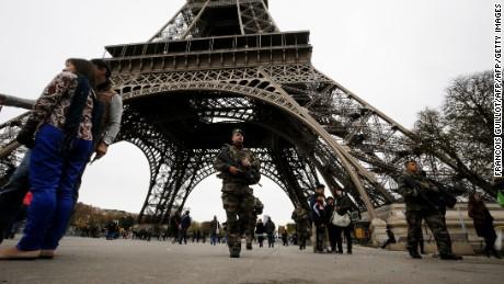 Increased security following Paris attacks