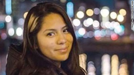 Nohemi GonzalezCA: A student from Cal State University Long Beach was among those killed in Paris attacksCalifornia State University, Long Beach (CSULB) student Nohemi Gonzalez, 20, was killed during the attacks in and around Paris on November 13.  Gonzalez, from El Monte, Calif., was a junior studying design, according to a statement from Cal State Long Beach sent to CNN.*Full statement to follow in Nat Extra Alert