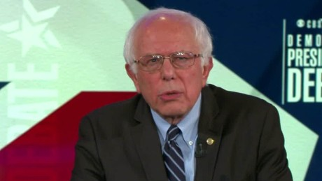 democratic debate bernie sanders on hillary clinton iraq invasion vote sot_00003807.jpg