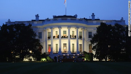 WASHINGTON, DC - AUGUST 05:  The White House seen from the South Lawn August 5, 2014 in Washington, DC.