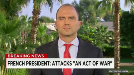 Obam adviser Ben Rhodes on Paris attacks