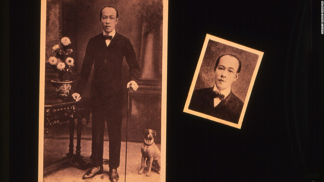 Raffles bartender Ngiam Tong Boon is said to have invented the Singapore Sling in 1915.