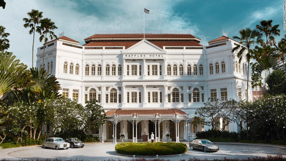 """This is a hotel that's built on stories and [the story of the new Singapore Sling] is the latest one,"" says Simon Hirst, general manager of Raffles Singapore."