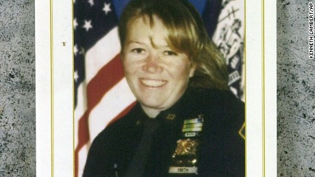 New York Police Officer Moira Smith died at the World Trade Center on Sept. 11, 2001.