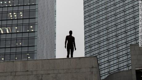 Event Horizon: Antony Gormley's immobile men invade Hong Kong
