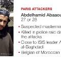 Paris Attack Suspect Abdelhamid Abbaoud