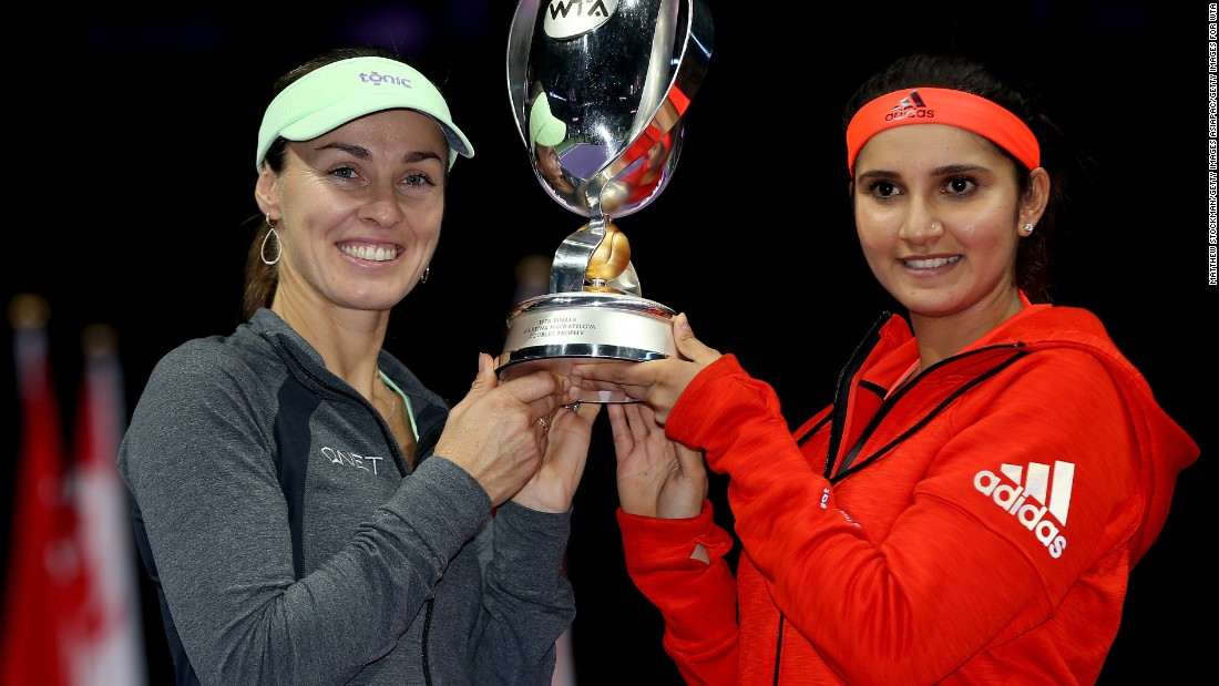 Mirza and Hingis have their sights set on winning yet more trophies, and Bhupathi thinks they can get there.