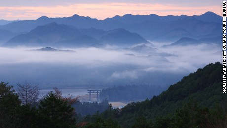 Near Tanabe, the Nakahechi Route is part of a UNESCO pilgrimage.