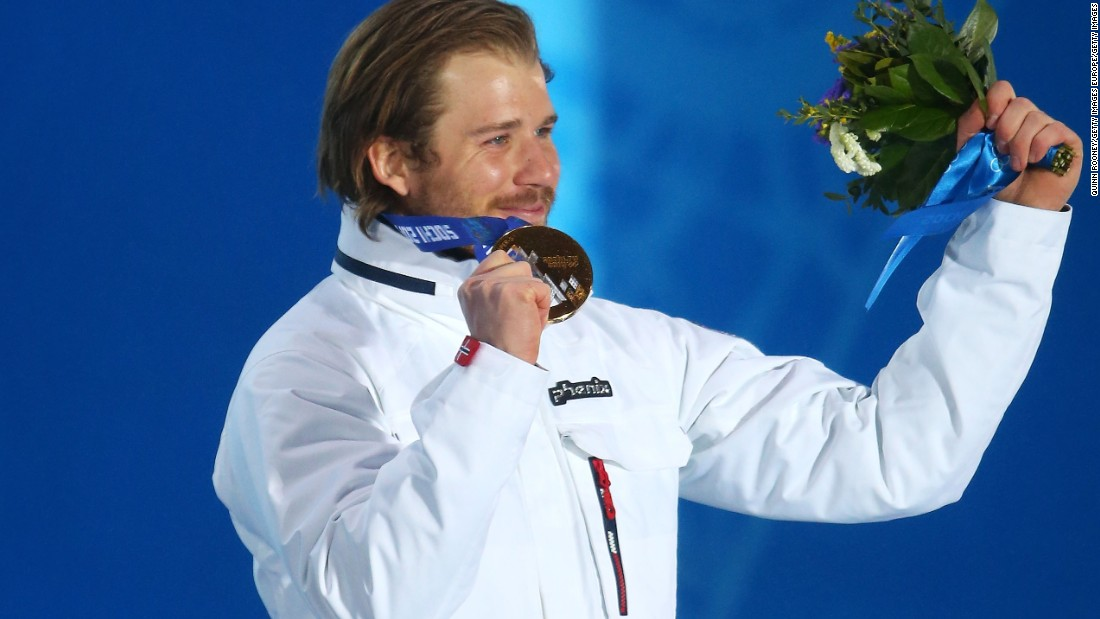 He described the gold medal as a childhood dream, while a bronze in the downhill at Sochi earned him a signed jersey from his hero Steven Gerrard, the ex-Liverpool footballer.