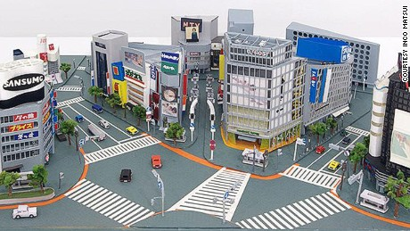 From New York to Tokyo, Osaka-born artist recreates cities entirely out of paper