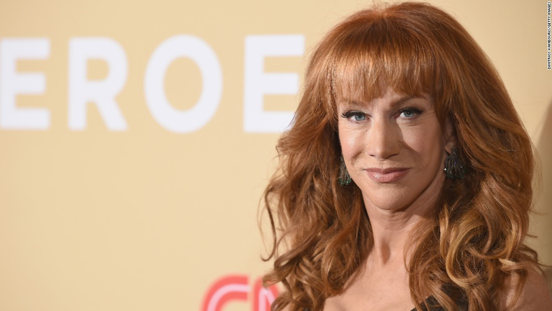Kathy Griffin was among the show presenters.