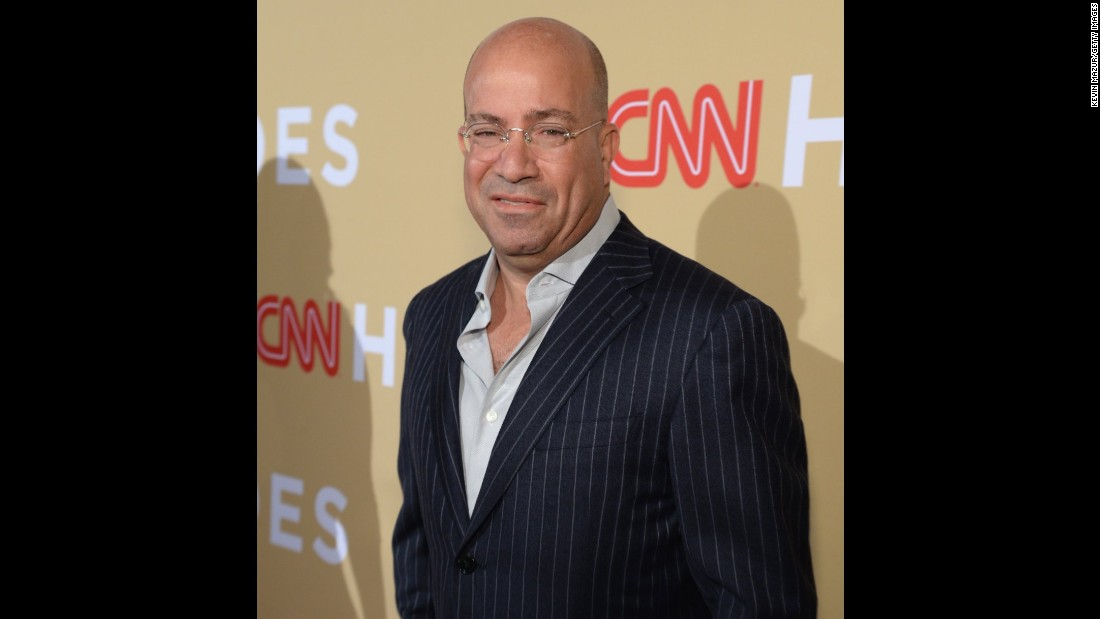 Jeff Zucker, president of CNN Worldwide