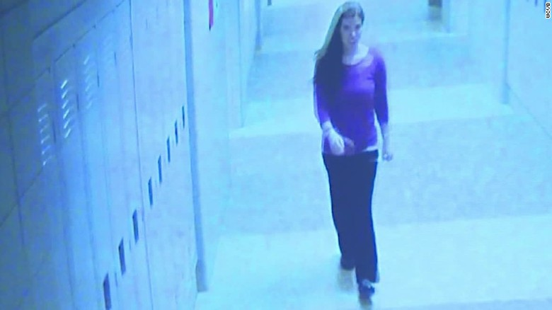 Video shows teacher's last steps before being killed