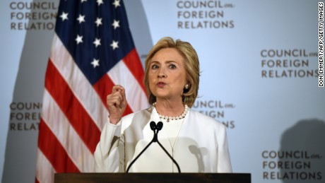 Hillary Clinton calls for U.S. to 'intensify and broaden' efforts to fight ISIS