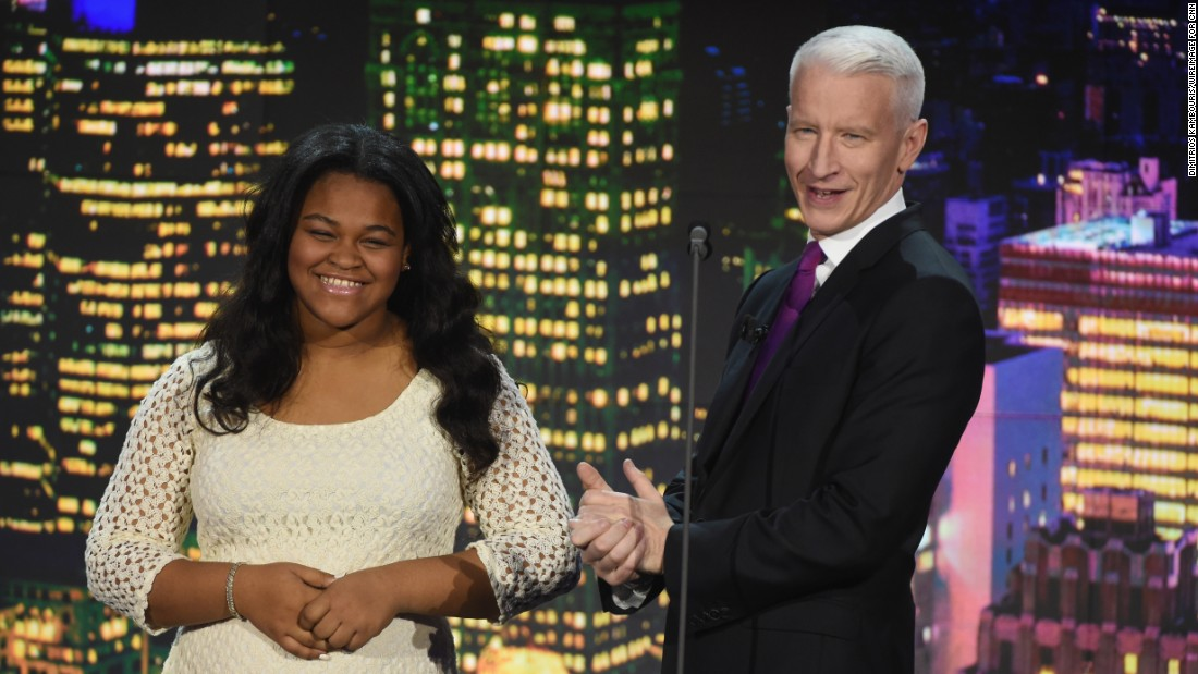 Cooper recognized Delaware's Imani Henry, also honored as a Young Wonder. Henry founded the 100 Men Reading program, which is aimed at enlisting positive male role models to encourage children to read.