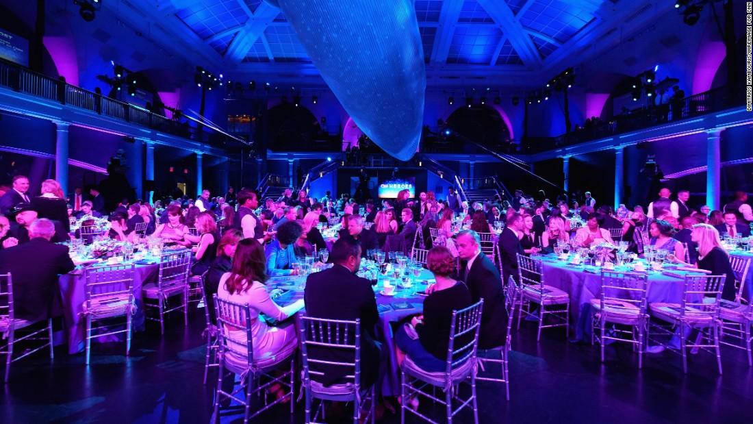 A Manhattan landmark, the American Museum of Natural History served as the location for the CNN Heroes award ceremony for the third year in a row.