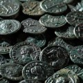 bronze roman coins