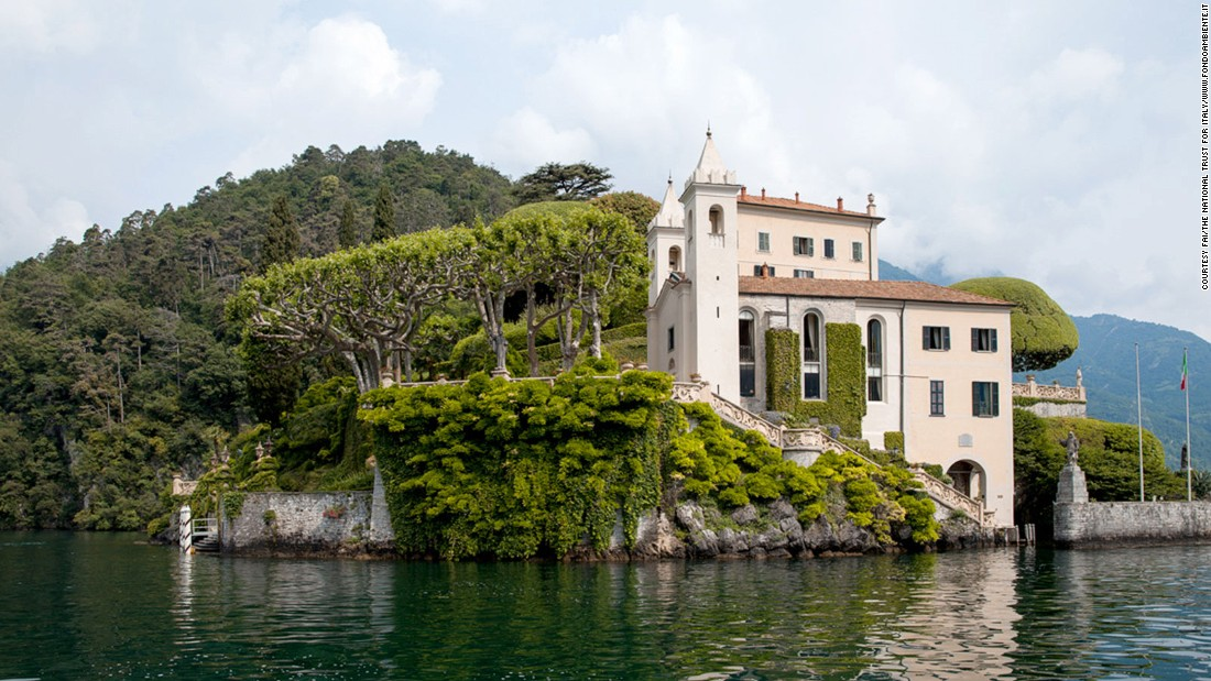 "Managed by Italy's National Trust, the Villa del Balbianello on the shores of Lake Como, was the scene of Anakin and Padme's wedding in ""Attack of the Clones."" In real life, the villa is also a popular wedding destination."