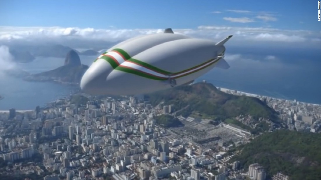 The airship is designed to allow the delivery of large loads of cargo to otherwise inaccessible areas. It can carry a 20 ton load.