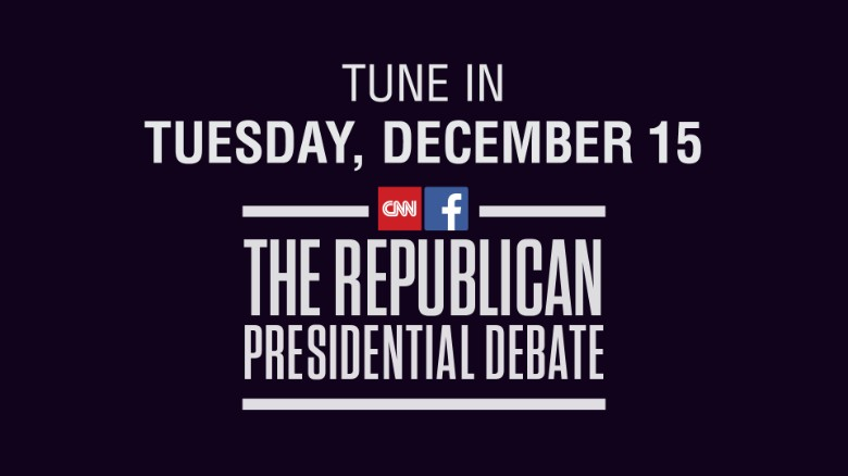 The CNN-Facebook Republican Presidential Debate