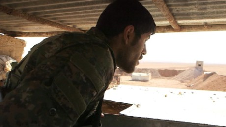 What's it like on the frontlines fighting ISIS?